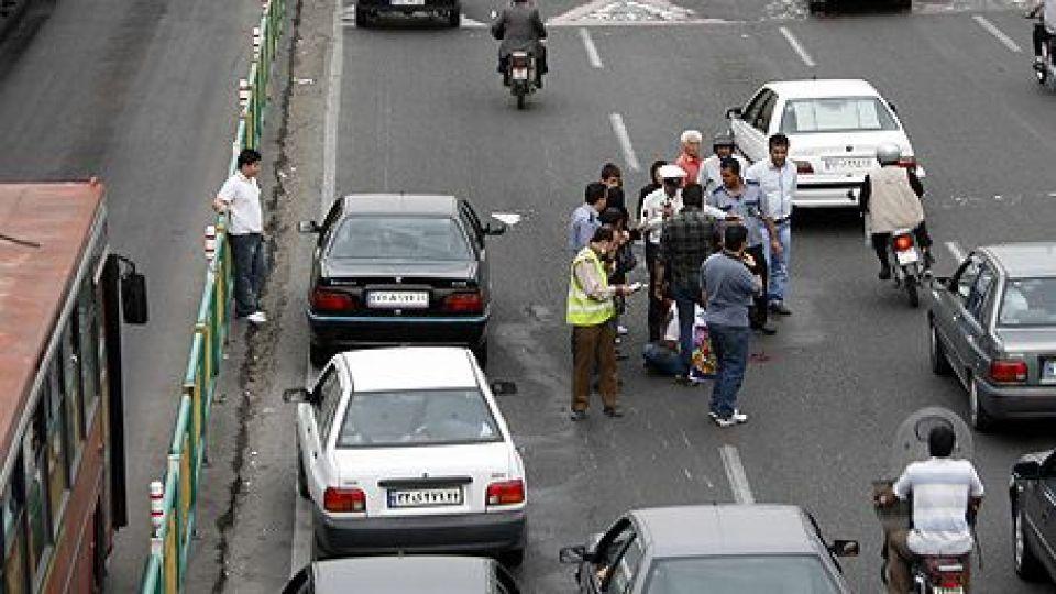 دیه تصادف عابر پیاده در اتوبان
